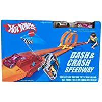 Hot Wheels Dash and Crash Speedway, Multi Color