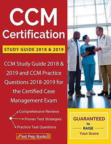 Download free pdf CCM Certification Study Guide 2018 & 2019: CCM ...