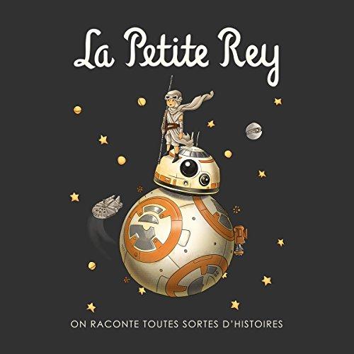La Petite Rey Star Wars The Force Awakens Women's Hooded Sweatshirt Charcoal