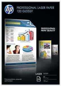 HP CG964A Professional Laser-Papier glänzend (beidseitig beschichtet) 120g/m² A4 250 Blatt, weiß