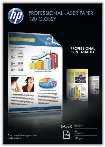 Preisvergleich Produktbild HP CG964A Professional Laser-Papier glänzend (beidseitig beschichtet) 120g/m² A4 250 Blatt, weiß