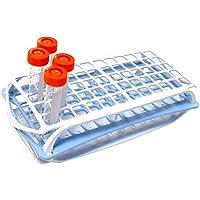Camlab Plastics RTP//7020-G 2 Tier Rack for 13 mm Tubes Green