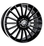 KESKIN KT15 MATT BLACK LIP POLISH 8,5x19 ET35 5.00x5x120 Hub Hole 72.60 mm - Alu felgen