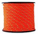 Chapuis MO325O Drizza poliestere - 200 kg - Diametro 3 mm - Lunghezza 25 m - Arancione/verde