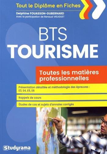BTS Tourisme : Toutes les épreuves professionnelles