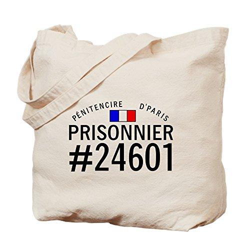 CafePress–Prisonnier # 24601–Leinwand Natur Tasche, Reinigungstuch Einkaufstasche Tote S khaki (Tote Leinwand Leicht)