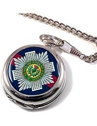 Guardia Escocesa Reloj Bolsillo Hunter Completo