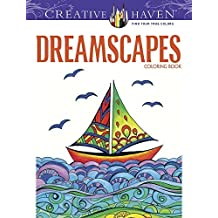 Creative Haven Dreamscapes Coloring Book (Creative Haven Coloring Books) by Adatto, Miryam, Creative Haven (2013) Paperback