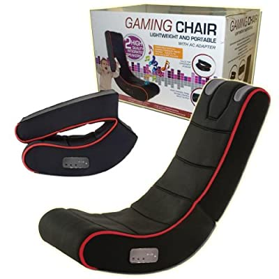 Playstation Ipad Gaming Chair Adults Kids Cyber Rocker Play Music Iphone Tablet - inexpensive UK light store.