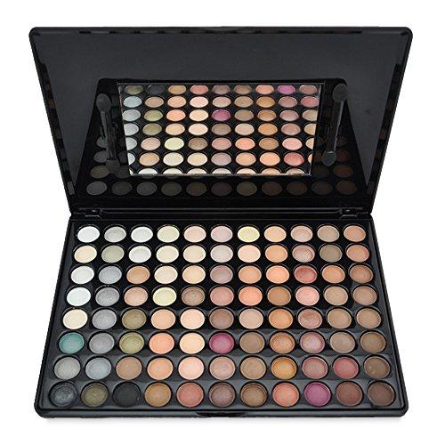 Huihuger 88 Farben Matt und Perle Lidschatten-Platte Kosmetik Make-up Lidschatten