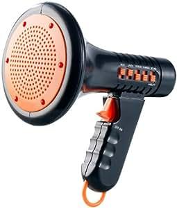 infactory Stimmenverzerrer: Halloween-Megaphone mit 4 Grusel-Sounds- ideal für Kinderpartys etc. (Stimmverzerrer)