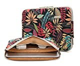 KAYOND Forest Series Pattern Water-resistant 11 inch laptop sleeve with pocket 11 inch