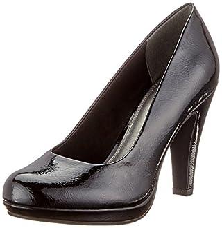MARCO TOZZI 2-2-22410-31, Escarpins Femme, Noir (Black Patent 018), 40 EU
