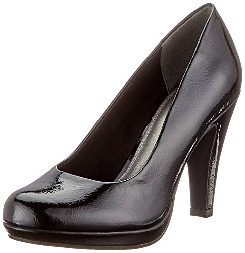 MARCO TOZZI 2-2-22410-31, Scarpe con Tacco Donna, Nero (Black Patent 018), 37 EU