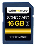 Extrememory Performance Class 6 SDHC 16GB Speicherkarte