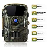 Wildlife Trail Camera, SGODDE 16MP 1080P HD Hunting Game Cameras with 42Pcs IR