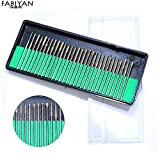Generic 30Pcs Stainless Steel Nail Art E...