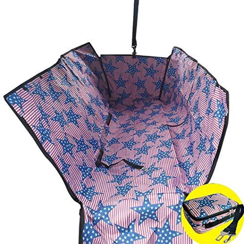 Donad Pet Cars Mat Wasserdichter Sitzschutz Abnehmbarer, Faltbarer, atmungsaktiver, tragbarer, hochwertiger Sitzbezug -