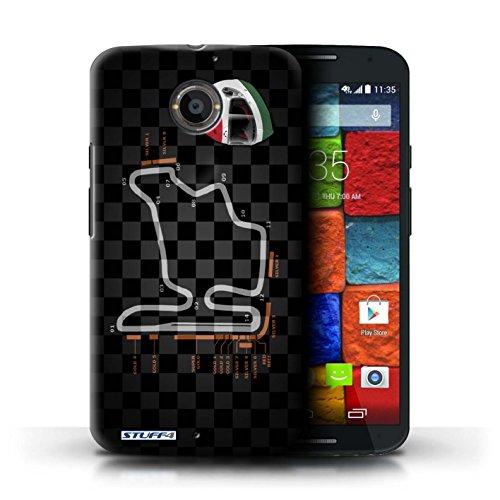 Kobalt® Imprimé Etui / Coque pour Motorola Moto X (2014) / USA/Austin conception / Série 2014 F1 Piste Hongrie/Budapest
