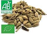 Bacelli di Cardamomo verdi interi Bio 100g
