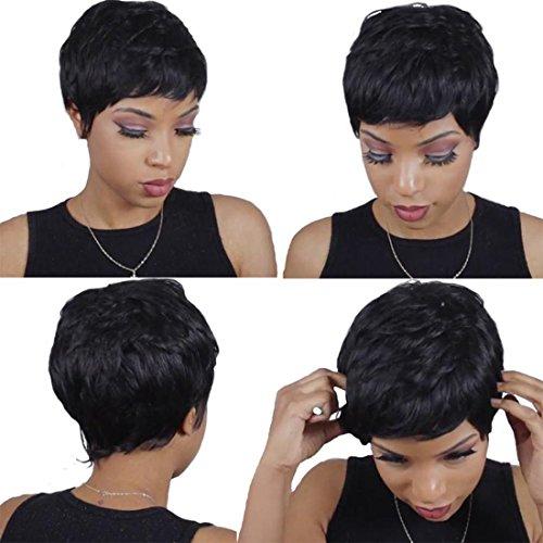 Extension corte di veri capelli brasiliani, 27 strisce di 3 diverse dimensioni, applicazione con tessitura, closure senza riga, colore naturale #1b