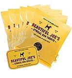 5 X Dried Liver Dog Treats & Storage Tin