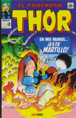 Descargar Libro El Poderoso Thor. En Mis Manos… ¡Este Martillo! (Marvel Gold Omnibus) de Stan Lee Jack Kirby Don Heck