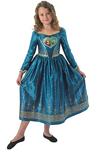 Merida - Loveheart Dress - Disney Princess - Chidlrens Costume - 9-10 - 140Cm