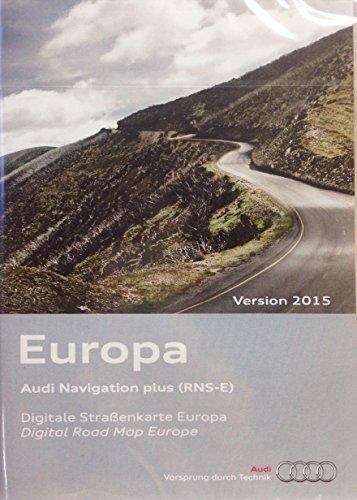 Audi Original Software Europa 2015 für RNS E Navigationssystem