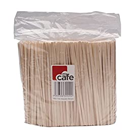Caterpack MY00011 3842 Wooden Coffee Stirrers, Pack of 1000