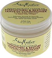 Shea Moisture Jamaican Black Castor Oil Strengthen and Grow Leave-In Conditioner for Unisex - 11 oz