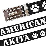 Bedruckter Stoff Gürtel American Akita