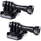 XCSOURCE 2pcs 360 Degree Rotate Screw Swivel Helmet Strap Buckle Adapter Holder Mount for GoPro Hero 3 3+ 4 Camera OS241