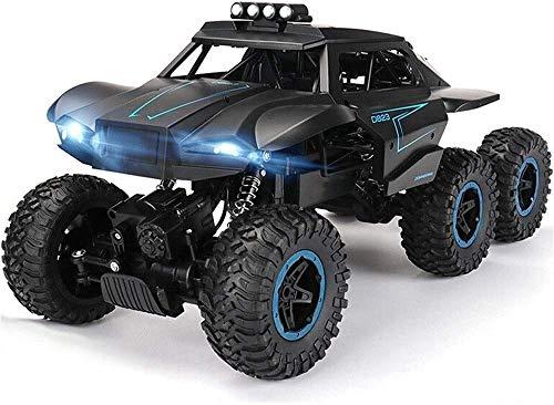 MECFIGH 1/12 High Speed   Außen Driften Climbing All-Terrain-Rock Crawler Auto 2.4Ghz elektrische Spielwaren 6WD RC Off-Road Cars RTR Buggy Monster Truck for Jungen Up Schwarz
