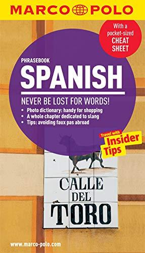 Spanish Phrasebook (Marco Polo Phrasebooks) por Marco Polo