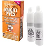 Ethos Bright Eyes™ Carnosine Eye Drops for Pets (Cats) - Ethos Bright Eyes™ NAC Eye Drops for Pets as Seen on UK National TV with Amazing