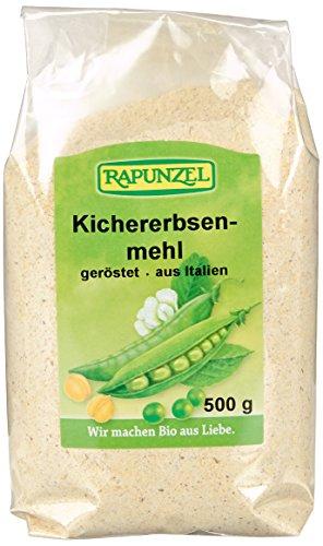 Rapunzel Kichererbsenmehl geröstet, Projekt, 1er Pack (1 x 500 g) - Bio