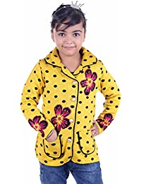 SAHAJ RANG Girls' Wool Coat/Jacket Style Sweater