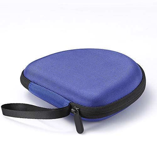 Hard Travel-Tasche für Sony MDRZX110NC / ZX300 / ZX310 / MDRZX110 ZX-Serie Stereo / MDRZX110AP Extra Bass-Kopfhörer, schützende Aufbewahrungstasche - Blau