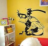 sticker mural Naruto Decal Cartoon Japonais Naruto Stickers Muraux Autocollant Sticker Décoration Murale Stickers Muraux Décor À La Maison Déco Naruto
