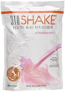 310 Shake Strawberry (Highest Quality Whole Food Ingredients)23.8 oz by 310 Nutrition