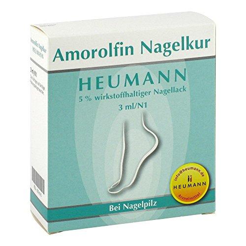 Amorolfin Nagelkur Heumann 5% 3 ml