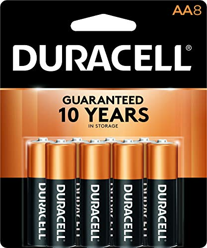 Duracell CopperTop Batterie Typ AA, 1,5Volt, 8ct - Coppertop Alkaline-batterien