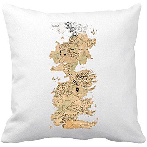 Cojín relleno Game Of Thrones mapa Westeros Juego
