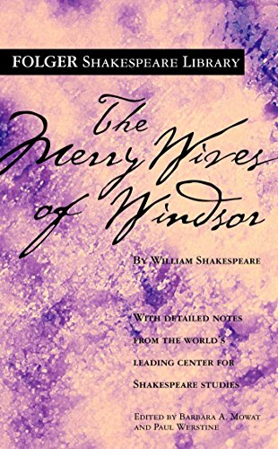 the-merry-wives-of-windsor-folger-shakespeare-library-english-edition