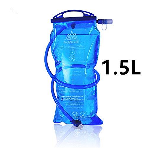 Imagen de bolsa de agua plegable aonijie de 1l/1,5l/2l/3l para  de hidratación, para correr, actividades al aire libre, montañismo
