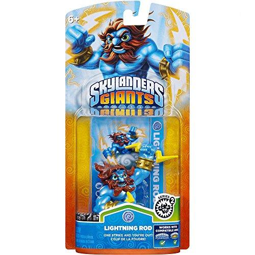 Skylanders Giants - Single Character - Lightning Rod (24 Rod)