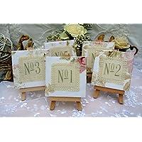 Tischnummer Tischzahlen Lovely Wedding Hochzeit