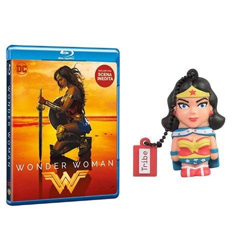 Wonder Woman (Blu-Ray) + Chiavetta Tribe DC Comics Wonder Woman USB Stick 8GB