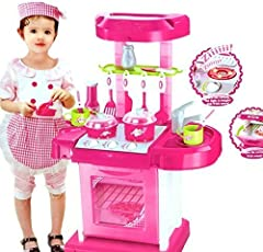 Kismis Battery Operated Kitchen Play Set For Kids - Multi Color
